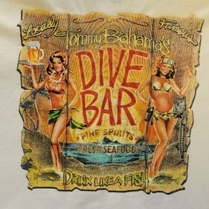 TOMMY BAHAMA RELAX DIVE BAR TEE